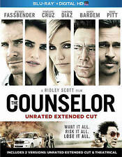 Counselor [Blu-ray] DVD, Cameron Diaz, Javier Bardem, Brad Pitt, Penelope Cruz,
