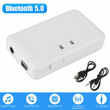 Bluetooth USB 3.5 mm AUX Stereo Audio Music Car Adapter Receiver US NEW WF
