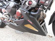 Yamaha FZ-09 MT09 XSR900 14 16 Bellypan w Crash Spoiler Matt Blk Powerbronze PB