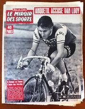 Miroir des Sports 13/03/1961; Anquetil/ Rugby, Galles-Irlande/ Henri Domec