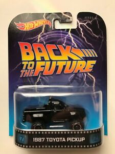 HOT WHEELS BACK TO THE FUTURE 1987 TOYOTA PICKUP VHTF *RARE*