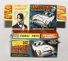 Reprobox Corgi Toys Nr. 261 - James Bond's Aston Martin D.B.5 mit Innendisplay