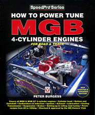 MGB ENGINES BOOK HOW TO POWER TUNE SERVICE SHOP MANUAL 4 CYLINDER ROAD & TRACK