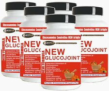 Chondroïtine Glucosamine MSM Acide Hyaluronique Curcuma Griffe du Diable 5 BOX
