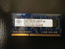 NT2GC64B88B0NS-CG NANYA LAPTOP MEMORY  2GB DDR3 1RX8 PC3-10600S-9-10-B2(CA68)