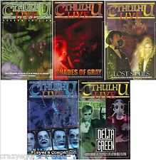 Cthulhu Live  Second Edition Value Pack - All 5 Books *FS