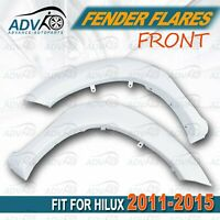 Fender Flares fit for Toyota Hilux 2011-2015 Front Guard W/ Rubber 2PC Front Set