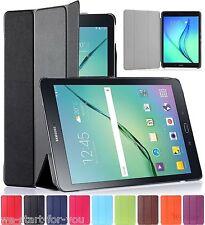 "Samsung Galaxy Tab A 9.7"" SM-T550/T555 Schutz Hülle+Folie Tasche Case Cover 9-FA"
