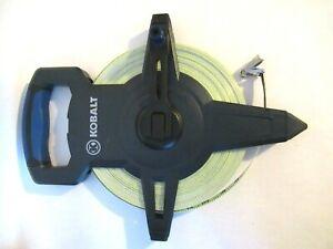 Kobalt 300FT Fiberglass Open Reel Measuring Tape