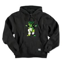 Grizzly x Marvel Hulk Pullover Hoodie, Black - Size Large Grizzly Griptape