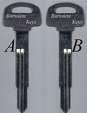 Replacement Key Blank Fits Honda Metropolitan Ruckus CHF50 Jazz Scoopy NPS50