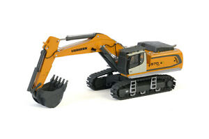 Liebherr R970 SME Excavator - Yellow - WSI 1:50 Scale Model #64-2002 New!