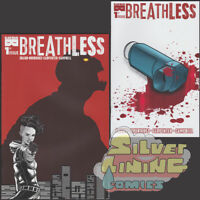 BREATHLESS #1 Set of Two COVER A + COVER B Black Mask