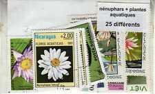 NENUPHARS PLANTES AQUATIQUES 25 timbres différents