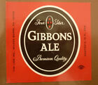OLD USA BEER LABEL, LION BREWERY WILKES BARRE PENNSYLVANIA, GIBBONS ALE 3