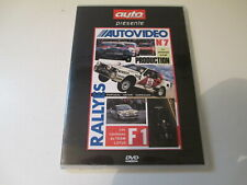 DVD AUTO PASSION AUTOVIDEO N° 7 J LAFFITE RALLY PORTUGAL F1 TEAM LOTUS GARRIGUES