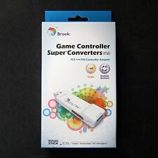 Brook PS3 Controller Adapter to PS4 for Console  No Need Original PS4 Controller