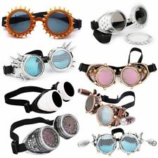 Glasses Steampunk Goggles Fashion Design Rave Festival Party Cosplay Punk