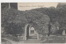 Ruins of Corton Church, Lowestoft Suffolk Postcard, B464