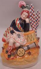 Staffordshire Figura Ceramica-SOLDATI Dream-Kilt scozzese indossando Highlander