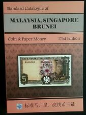 2014-16 standard catalogue malaysia singapore brunei coin paper money NEW USsell