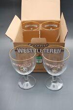 Glasses Trappist Westvleteren 15 cl.