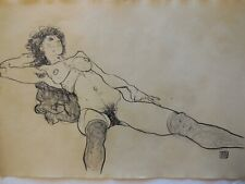 Old master,Antique,Modern,Rare drawings,original charcoal drawing,Home decor