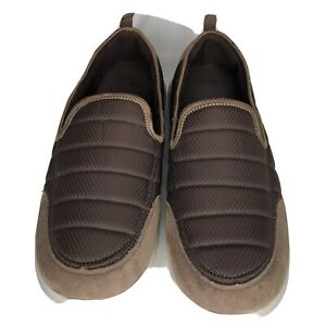 Spenco Shoes Slip Ons Men Size 14 Brown Color
