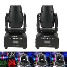 2Pcs 50W Moving Head Stage Light Beam RGBW DMX Strobe 11/13CH Bright Indoor U32U