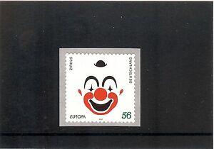 2272 BRD Lachender Clown  Selbstklebend ** mit Zählnummer