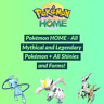Pokemon HOME - All Mythical and Legendary Pokémon + All Shinies and Forms!