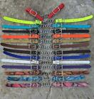New Colorful Beta Biothane Chain Curb Chin Straps for Bits.  Quality Horse Tack