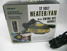 12 Volt Automobile Windshield Heater/Fan Defroster with Swing Out Handle NIB