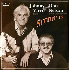 Johnny Varro with Don Nelson - Sittin' In CD NEW swing/trad jazz