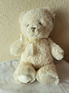 """Gund BNWT Cream My First Soft Plush 11"""" Teddy"""