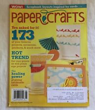 PAPER CRAFTS Magazine for Rubber Stamping and Cards - July / August 2010