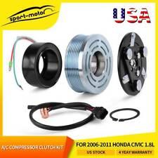 Ac Ac Compressor Clutch Kit For 2006 2007 2008 2009 2010 2011 Honda Civic 18l