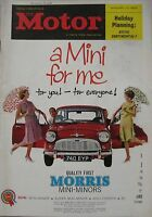 Motor magazine 10/1/1962 featuring Ford Capri road test