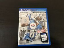 Madden NFL 13 (Sony PlayStation Vita) with the case