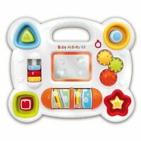Baby Activity Play Centre Toddler Musical Shape Sorter Toy Educational Carry Car