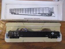 "PROTO 2000 920-54077 52'6"" Drop End Mill Gondola Erie #10432 Large Gears"