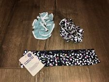 Lululemon Seawheeze reflective headband and scrunchies