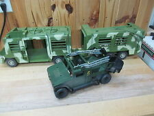 Hasbro Toy Vehicles – Jurassic Park Lot Humvee Capture Mobile Command Center