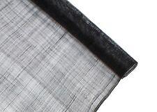Stiffened Sinamay Millinery Fabric - Black - 1 Meter x 90cm