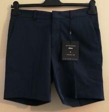 "MINIMUM Errol Men's Flat Front Shorts Imperial Blue Size uk 30"" Waist"