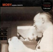 MOBY animal rights (2X CD album, limited edition, 1996) punk, ambient, very good