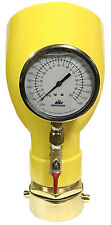 """NNI 2-1/2"""" NST Fire Hydrant Swivel Diffuser 100Psi 1680GPM Flow Test Gauge"""