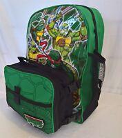 ~ TMNT Ninja Turtles - GENUINE BACKPACK SCHOOL BAG & LUNCH BOX COOLER *Few Left*