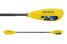 LIGHTWEIGHT KAYAK + CANOE PADDLE / OAR (SFPD2-06} YELLOW (2 pc paddle) dinghy