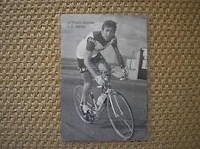 VITTORIO ADORNI FAEMA 1968 CARTOLINA CICLISMO RADSPORT CYCLISME CYCLING